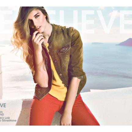 Fashion shooting Santorini Island